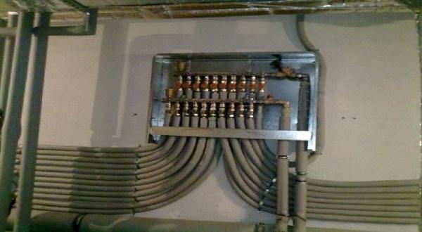 Коллекторная схема разводки отопления