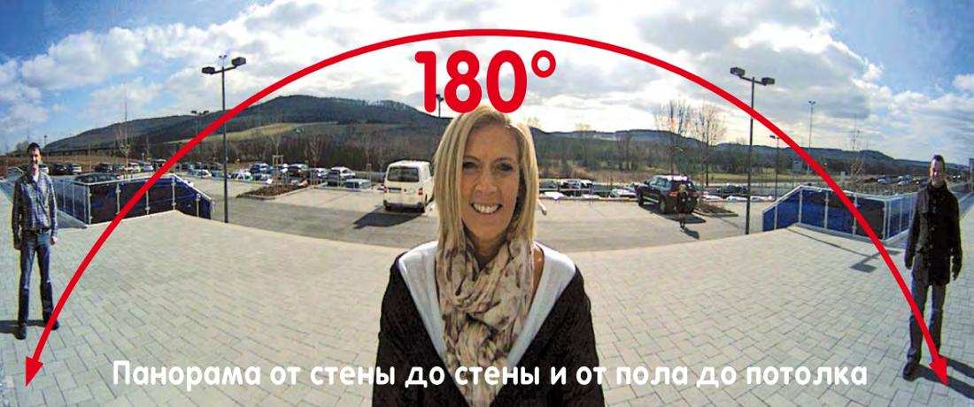 Mobotix панорама 360